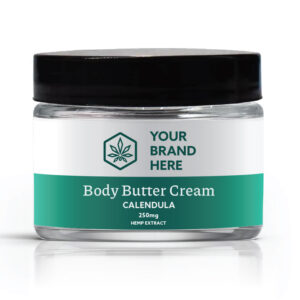 CBD body cream private label example
