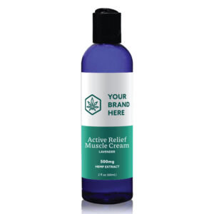 Active Relief CBD Muscle Rub Private Label example