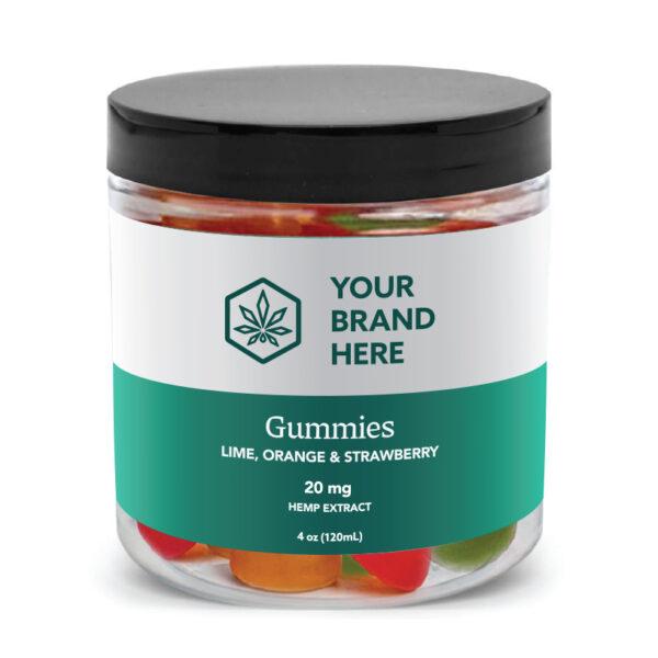 CBD Gummies private label example product