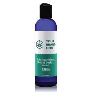 Lavender CBD Lotion Private Label example