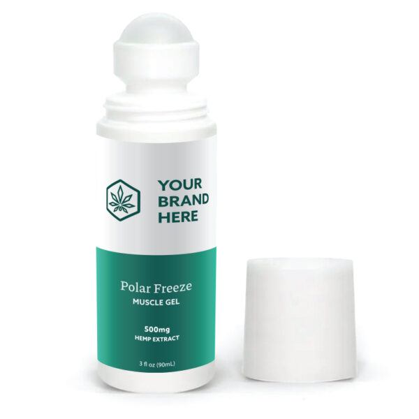 CBD polar freeze roll on